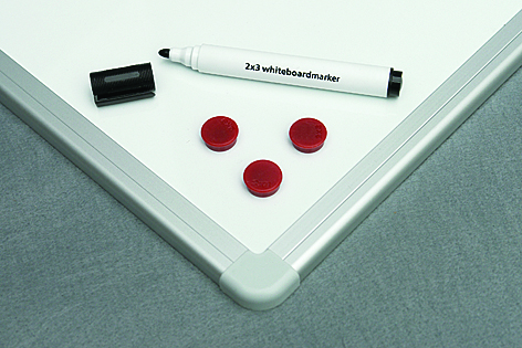 Magnetická tabule Ceramic - keramický matný povrch 300x120 cm, hliníkový rám, vyztužené balení HDF
