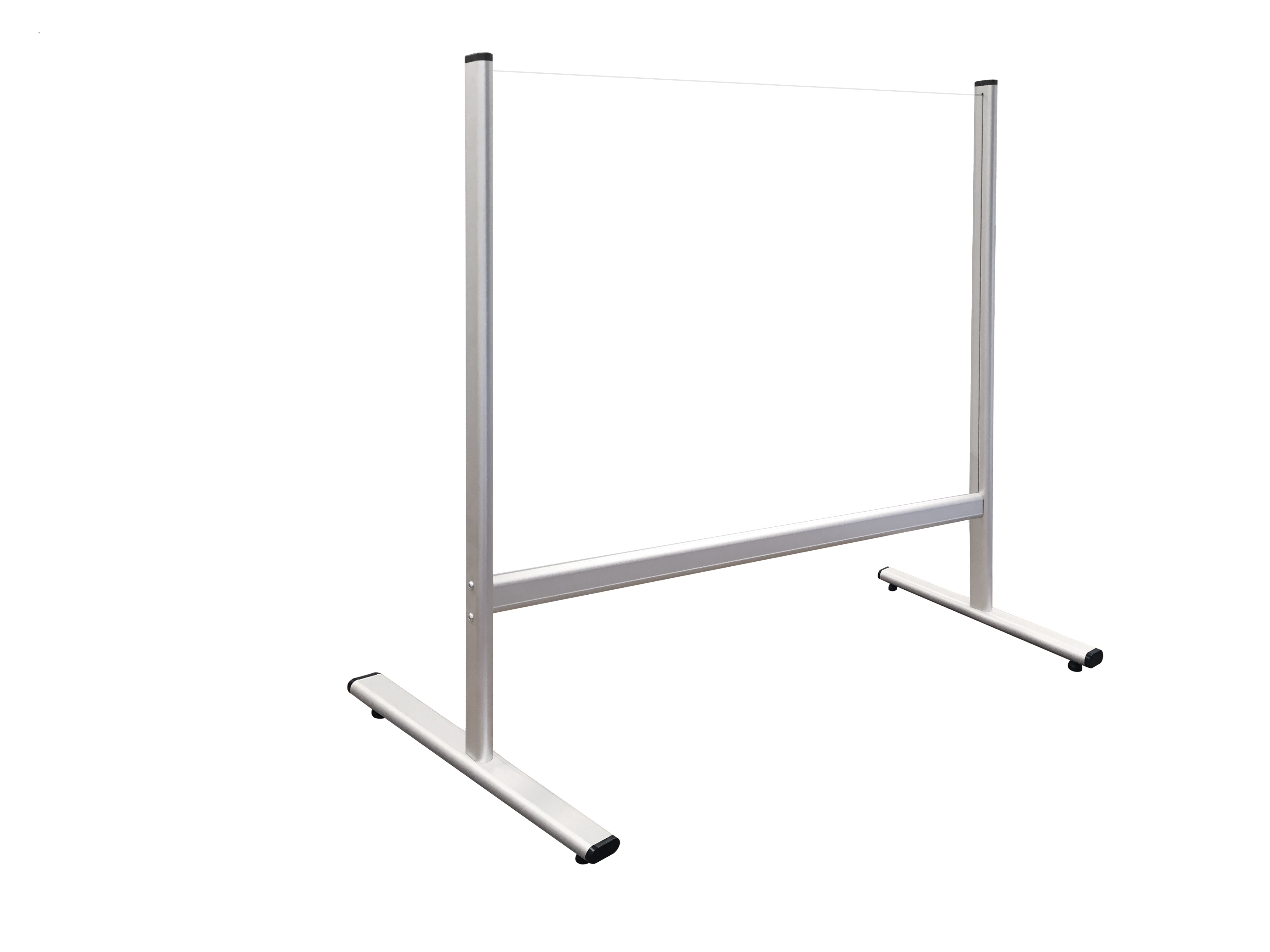 Bezpečnostní dělící plexi stěna na stůl 80 x 65 cm