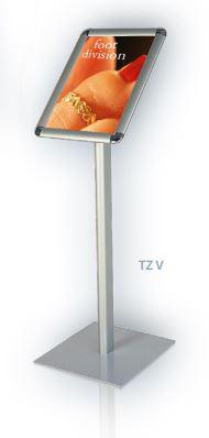 Informační tabule na stojanu, výška 120, A3 na výšku