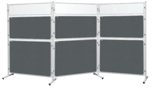 Panel Modular 2x3 s výplňí z čirého plexi - 180 x 120 cm