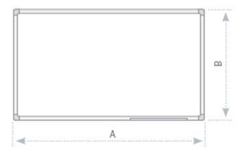 Keramická tabule, Alu rám 45 x 60 cm
