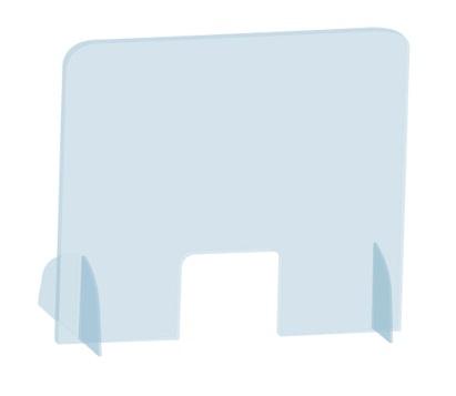 Vertikální ochranný stojánek na stůl 85 x 50 cm