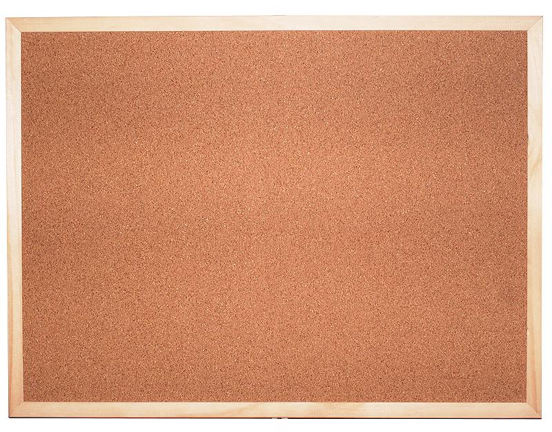 Korková jednostranná tabule Economy 40x30
